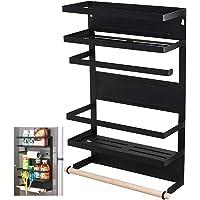 Magnetic-Shelf Kitchen-Rack-Magnetic Storage Holder-Organizer (Refrigerator Magnetic Rack)