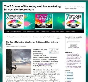 7 Graces of Marketing: marketing, social media, small business