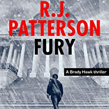 Fury: A Brady Hawk Novel, Book 6 Audiobook by R. J. Patterson Narrated by Dwight Kuhlman