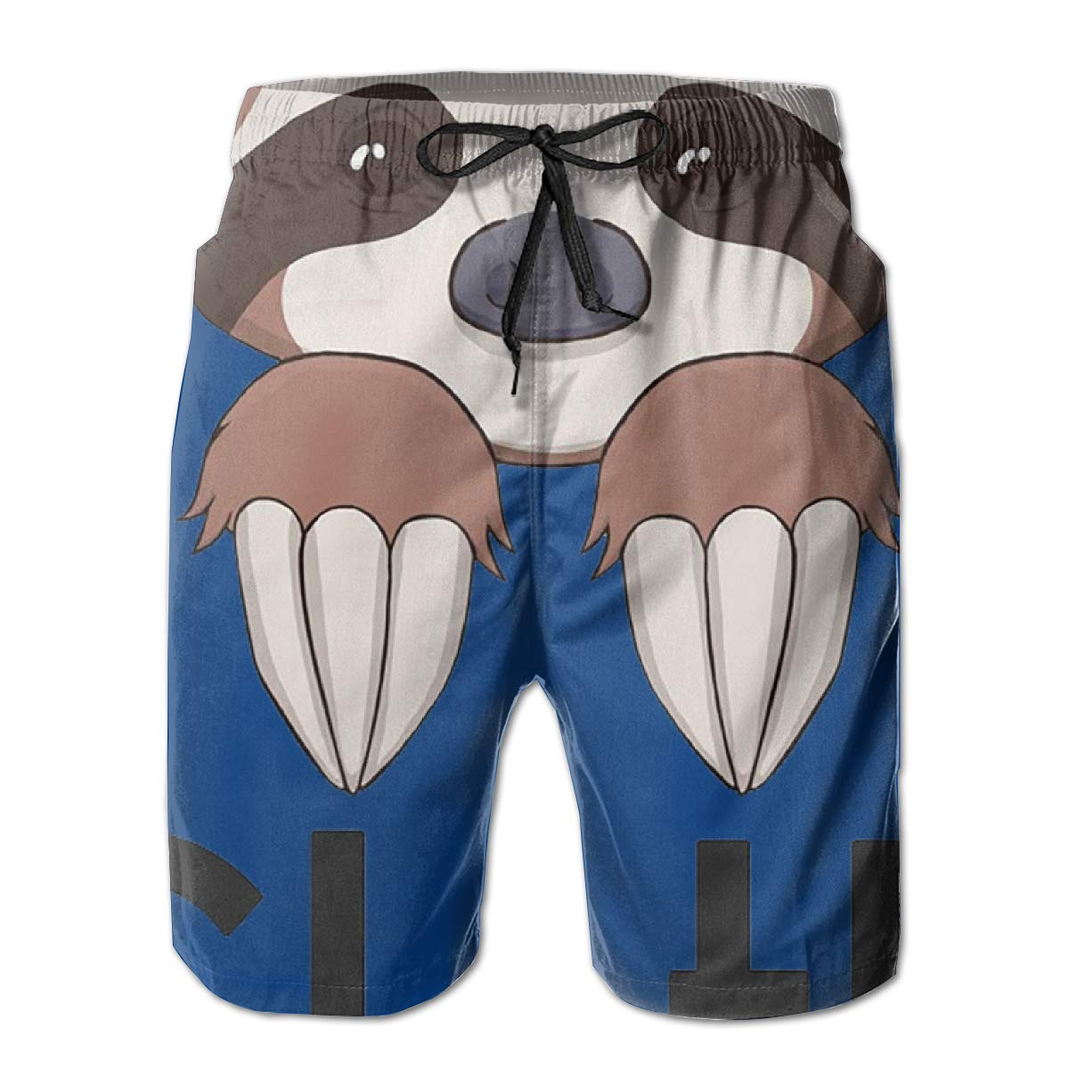 Summer Holiday Mesh Lining Swimwear Board Shorts with Pockets Hateone Mens Beach Shorts Quick Dry