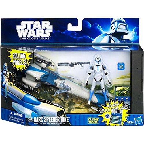 Barc Speeder Bike with Clone Trooper Jesse Action Figure Set Star Wars