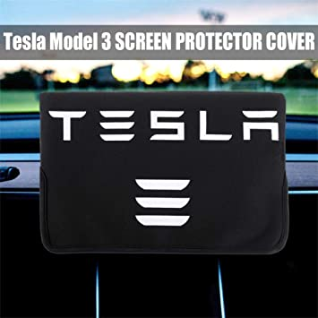 Tesla Model 3 Accessory for Sunshade and Screen Protection Center Console Display Cover Sleeve