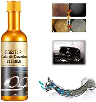 Llde 120ml Boost Up Vehicle Engine Catalytic Converter Cleaner Auto