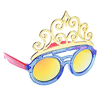 Sun-Staches Costume Sunglasses Kids Snow White Princess Party Favors UV400: Toys & Games