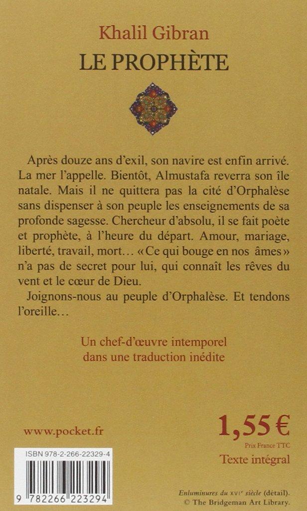 Le Prophète Khalil Gibran Didier Sénécal 9782266223294