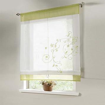 Flora Sheer Küche Badezimmer Balkon Fenster Vorhang liftable ...