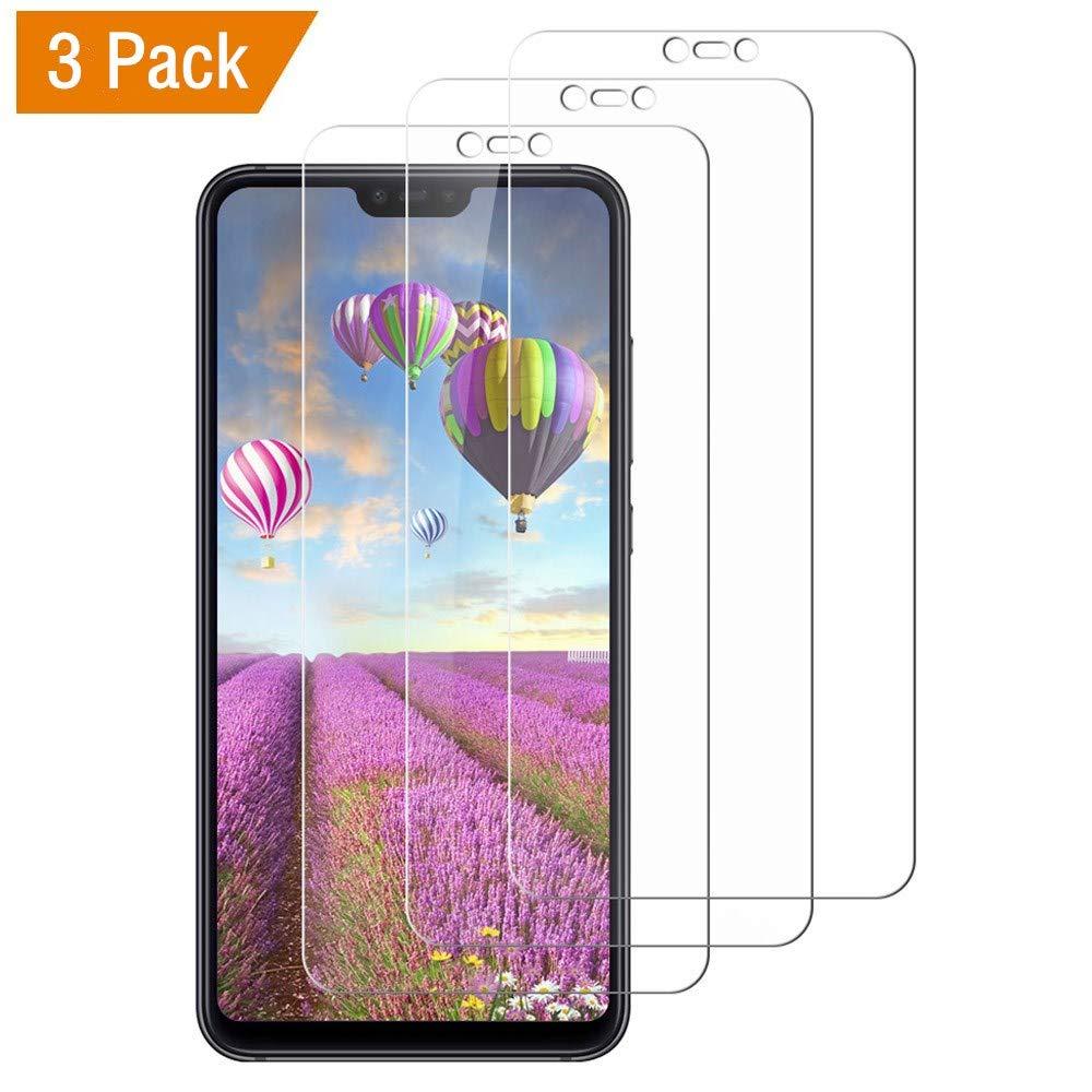 SKYE Protector de Pantalla para Xiaomi Mi 8 Lite, [3 Unidades] Cristal Vidrio Templado Xiaomi Mi 8 Lite, Alta Definicion, Sin Burbujas, 9H Dureza, Anti-Rasguños