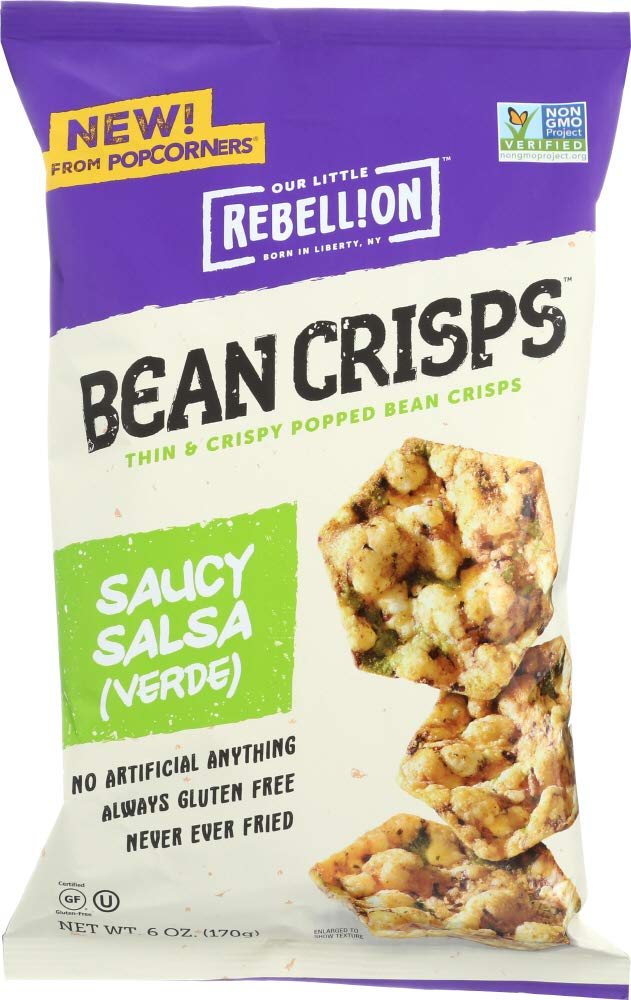 Our Little Rebellion (1 Item ONLY) Bean Crisps Saucy Salsa Verde