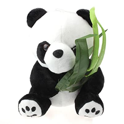 GOTD Panda Teddy Bear Stuffed Animal Pendant 20cm: Toys & Games