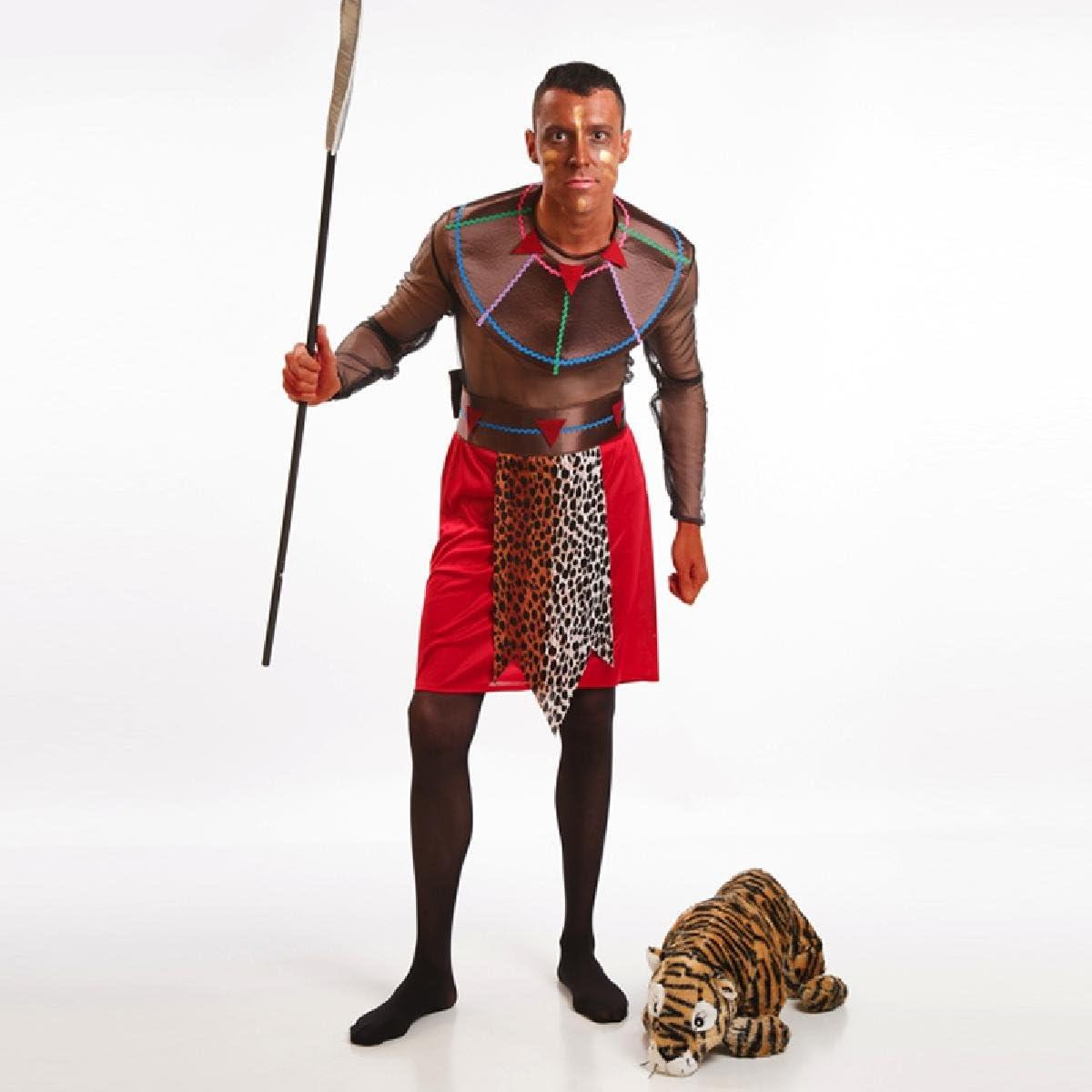 Disfraz de Guerrero Masái para hombre: Amazon.es: Juguetes y juegos
