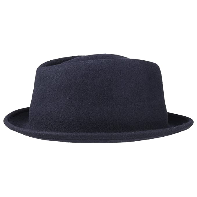 3 opinioni per Blank Pork Pie Cappello Lierys cappello di feltro cappello da musicista cappello