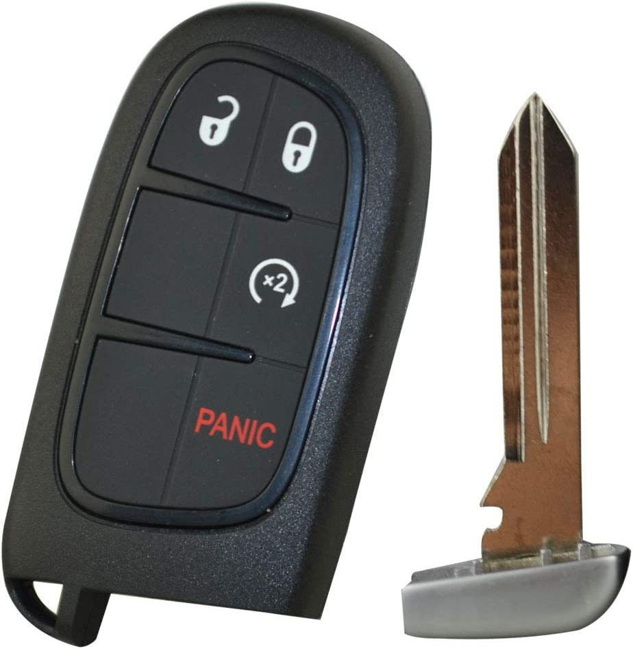 FLYPIG For Dodge Ram Smart Key shell 1500 2500 3500 Pickup Truck Remote Fob Prox