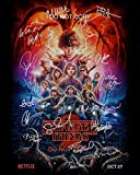 Stranger Things Season 2 CAST Reprint SIGNED 11x14 poster photo RP Netflix TV Show