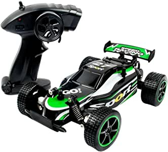 ToyPark RC Car 2.4Ghz 2WD High Speed 1:20 Radio Remote Rock Off-Road Vehicle Crawler Truck