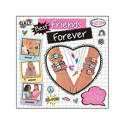 Galt Toys Best Friends Forever (Multicolore) Kit de fabrication de bijoux