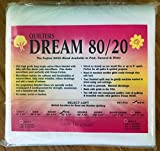 Quilter's Dream 80/20, White, Select Loft Batting - Twin Size 93''X72''