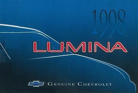 amazon com bishko automotive literature 1998 chevrolet lumina rh amazon com 2000 Chevy Lumina 1998 chevrolet lumina owners manual pdf