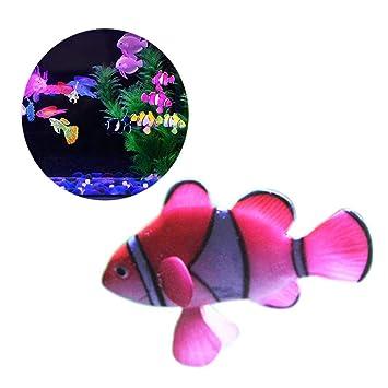 Realista Plásticas Artificiales En Movimiento Peces Flotando Falsos Peces Artificiales De Peces Decoración Decoraciones para Peces De Acuario Tanque ...