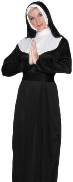 erdbeerloft - Disfraz de monja Monja, para mujer, Juego ...