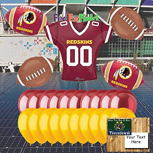 (Washington Redskins Balloon Set)