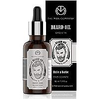 The Man Company Beard Growth Oil for Men - (Almond & Thyme) for Beard Growth (30ml)