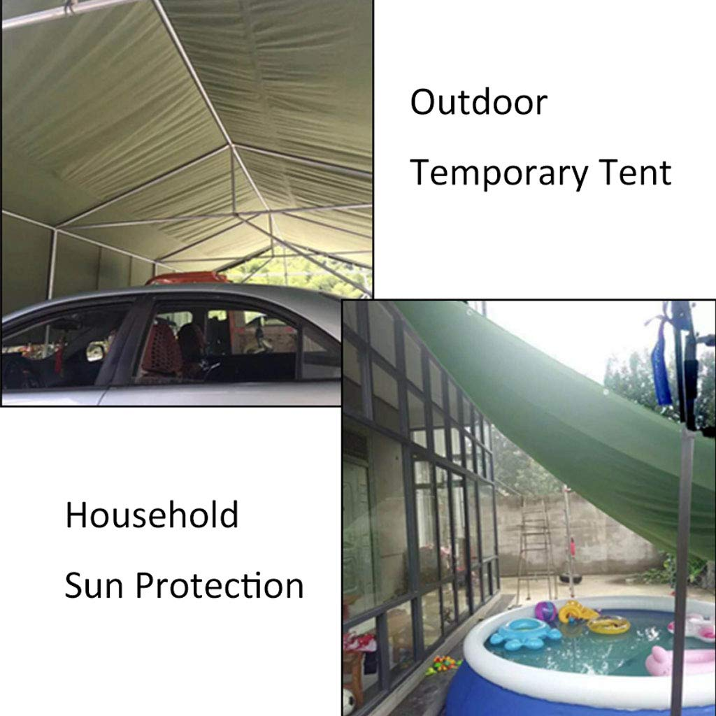 Regenfeste Sonnencreme-Plane, Sonnenschutz-Überdachungs-Wasserdichte Sonnenschutz-Überdachungs-Wasserdichte Sonnenschutz-Überdachungs-Wasserdichte Segeltuch-Plane, Multi-Größe Optional B07GH2BDLC Zeltplanen Starke Hitze- und HitzeBesteändigkeit fa5515