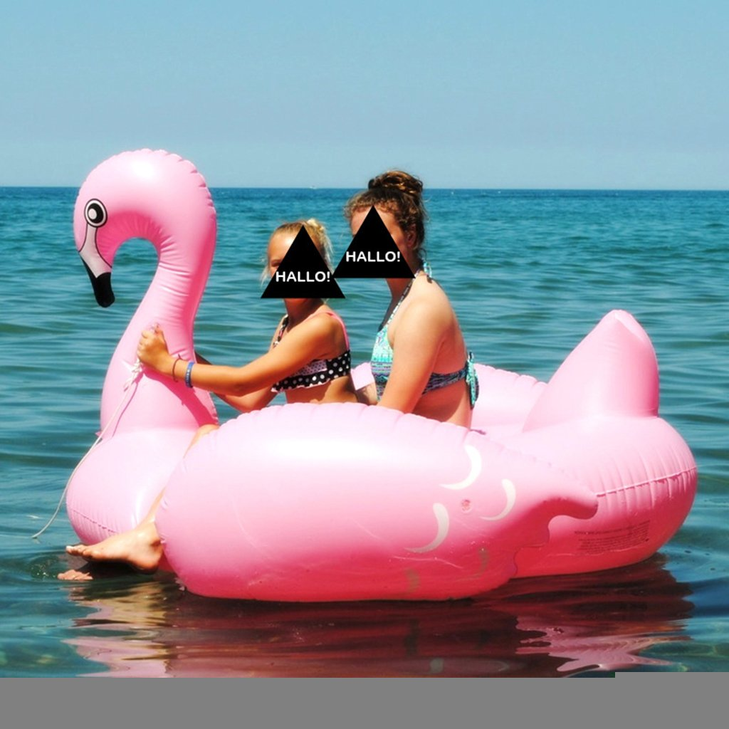 Amazon.com: Flotador hinchable para piscina, flamenco ...