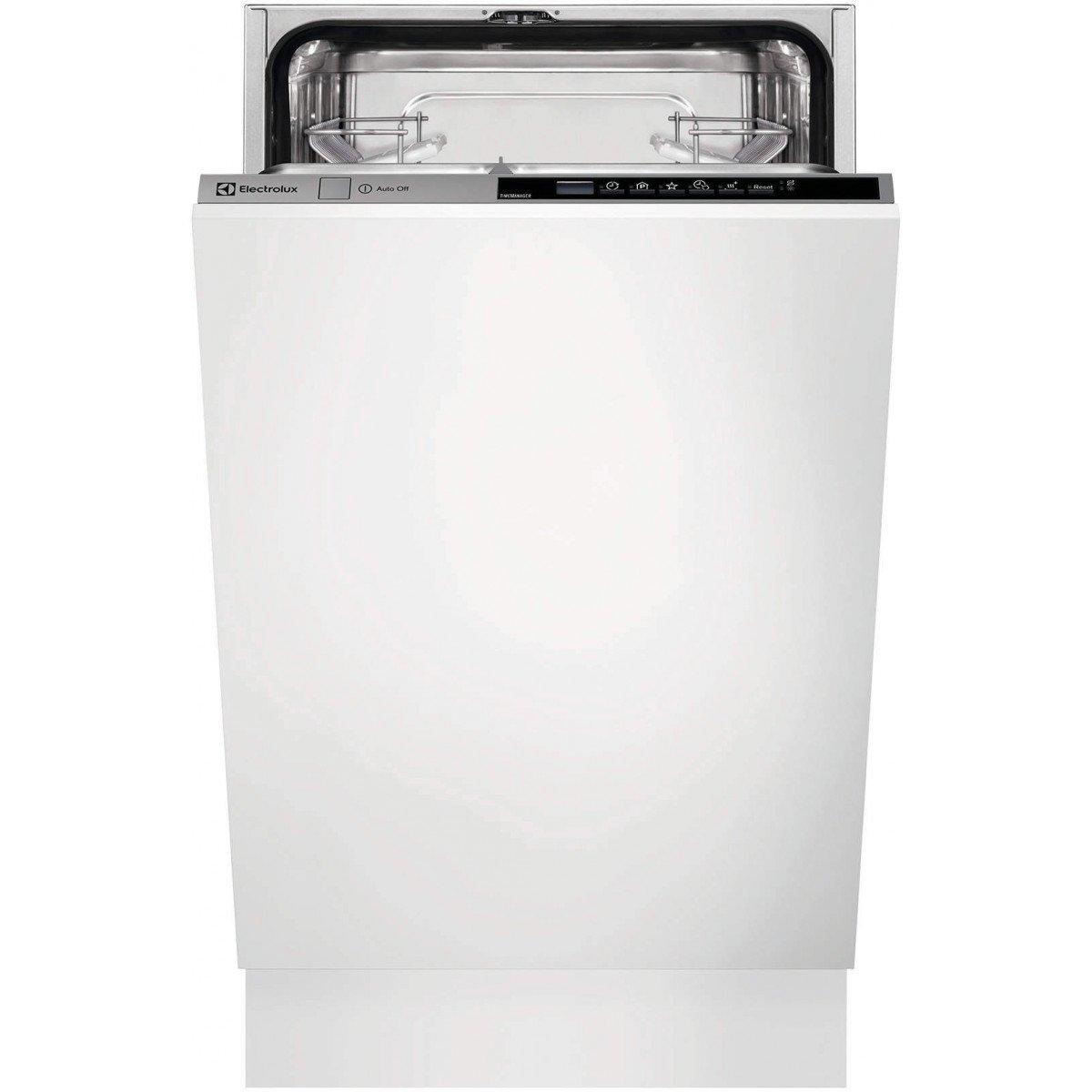 Electrolux ESL4510LO Totalmente integrado 9cubiertos A+ lavavajilla - Lavavajillas (Totalmente integrado, Blanco, Slimline (45 cm), Negro, Gris, Sensor, ...