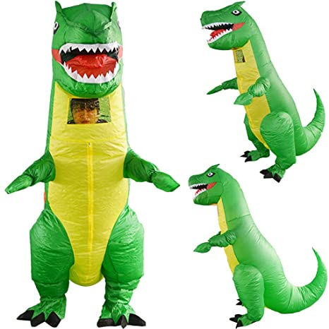 Inflatable Dinosaurio EUZeo,Inflables de Navidad Disfraz ...