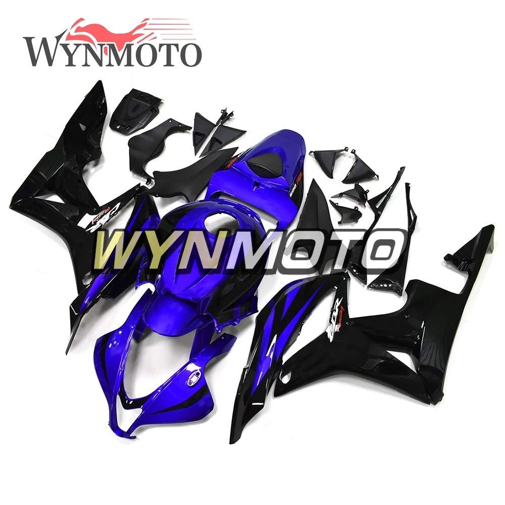 WYNMOTO グロスブルー完全なオートバイボディキットホンダ CBR600RR F5 年 2007-2008 ボディワークカウリング ABS 樹脂射出新しい F5 07 08   B07F3W64GZ