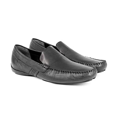 VELEZ Mens Classy Genuine Colombian Leather Slip on Shoes Loafers Flat Moccasins Driving Mocs | Mocasines