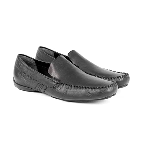 VELEZ Mens Leather Loafers Slip on Shoes | Mocasines de Cuero para Hombres