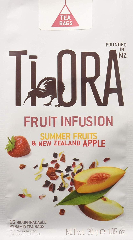 Ti Ora Infusion Sumer Fruits, manzana de Nueva Zelanda   Pack 4x15 ...