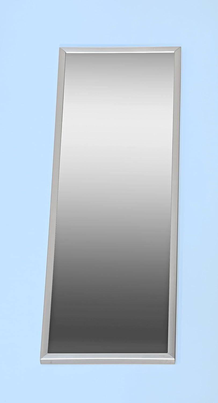 5077-10 - Spiegel, mit Metall - Rahmen in Edelstahl - Optik ...