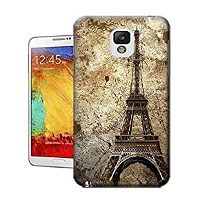 X-Cases The-ancient-Eiffel-Tower TPU Hard Cover Case Samsung Galaxy Note3