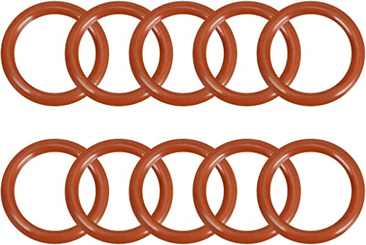Metric O-Ring Seals Buna-70 2mm x 11mm RED Pack of 10