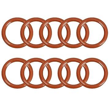 Dichtring rot Menge 25 Stück O-Ring 10,1 x 1 mm Silikon MVQ 70
