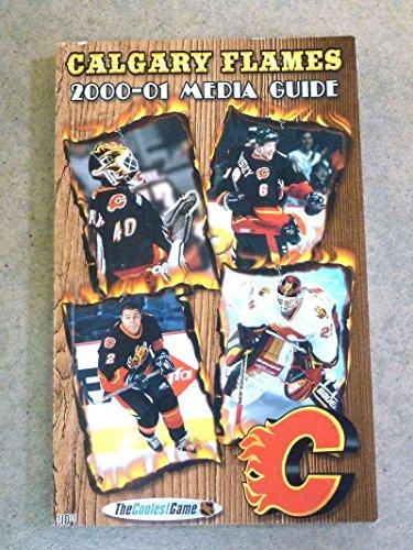CALGARY FLAMES NHL HOCKEY MEDIA GUIDE - 2000/01 - NEAR MINT