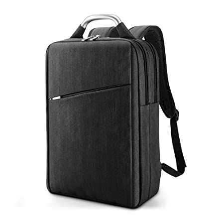 Review Laptop Backpack, Multi-Compartments Business