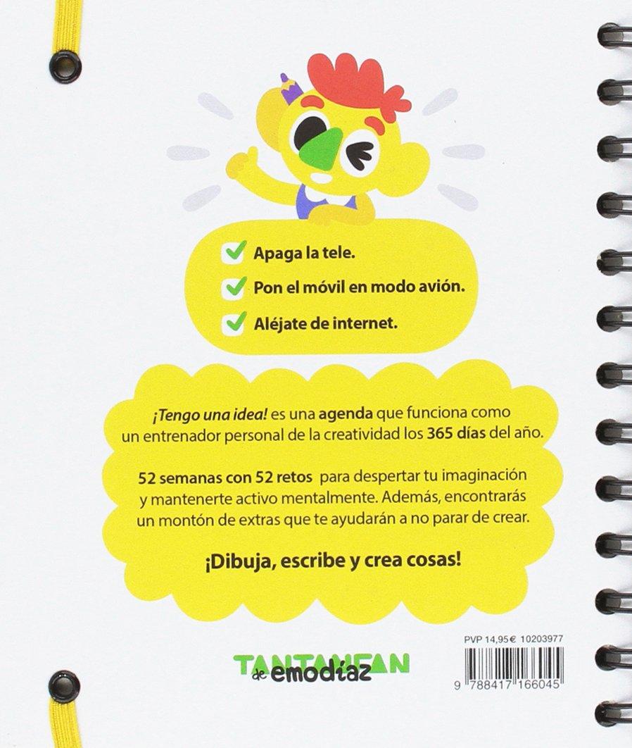 Tengo una idea: Agenda Creativa: Emo Díaz: 9788417166045 ...