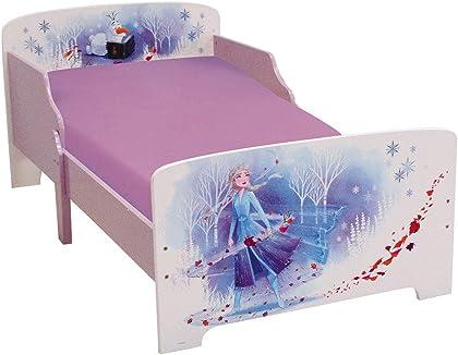 Cama de Frozen de 140 x 70 cm Color Morado Elsa la Reina de Hielo