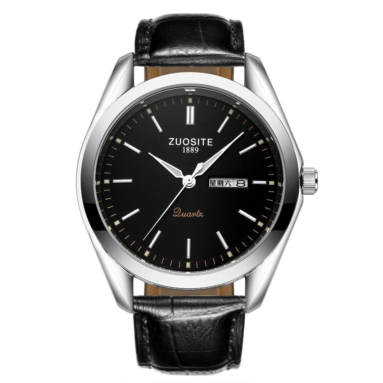 Men 's Quartz Watch /防水ステンレススチールメンズ腕時計/ファッション超薄型watch-a B06XJMDQ9F