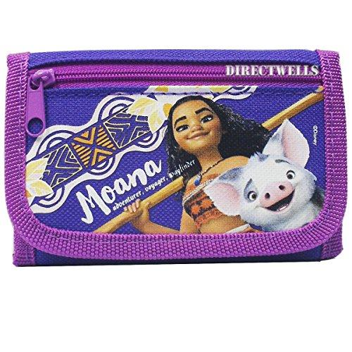 entic Licensed Trifold Children Wallet (Purple) ()