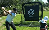 The-Golf-Practice-Hitting-Automatic-Ball-Return-System-Net-WHigh-Quality-Target-sheet-and-Two-Side-Barrier