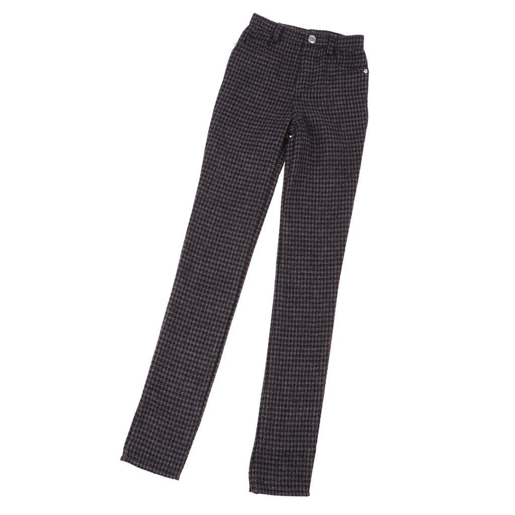 MagiDeal 70cm BJD Plaid Suit Pants Trousers for Male SD DOA LUTS Dollfie Dolls