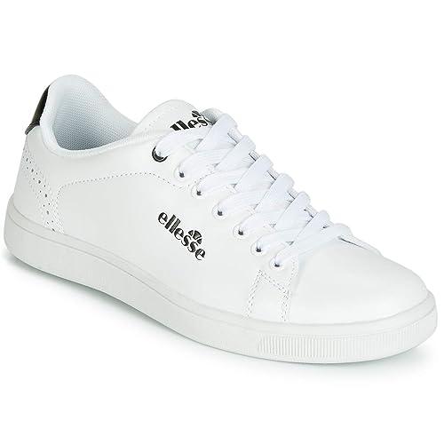 Ellesse - Zapatillas de Deporte Bajas, para Mujer, Modelo «Ben», EL814448 11, Color Blanco y Negro: Amazon.es: Zapatos y complementos