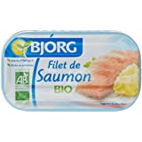Bjorg Filet de Saumon Bio 125 g