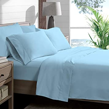 Luxury /& Soft Bedding Collection 100/% Cotton Light Grey Solid 400 TC All Size
