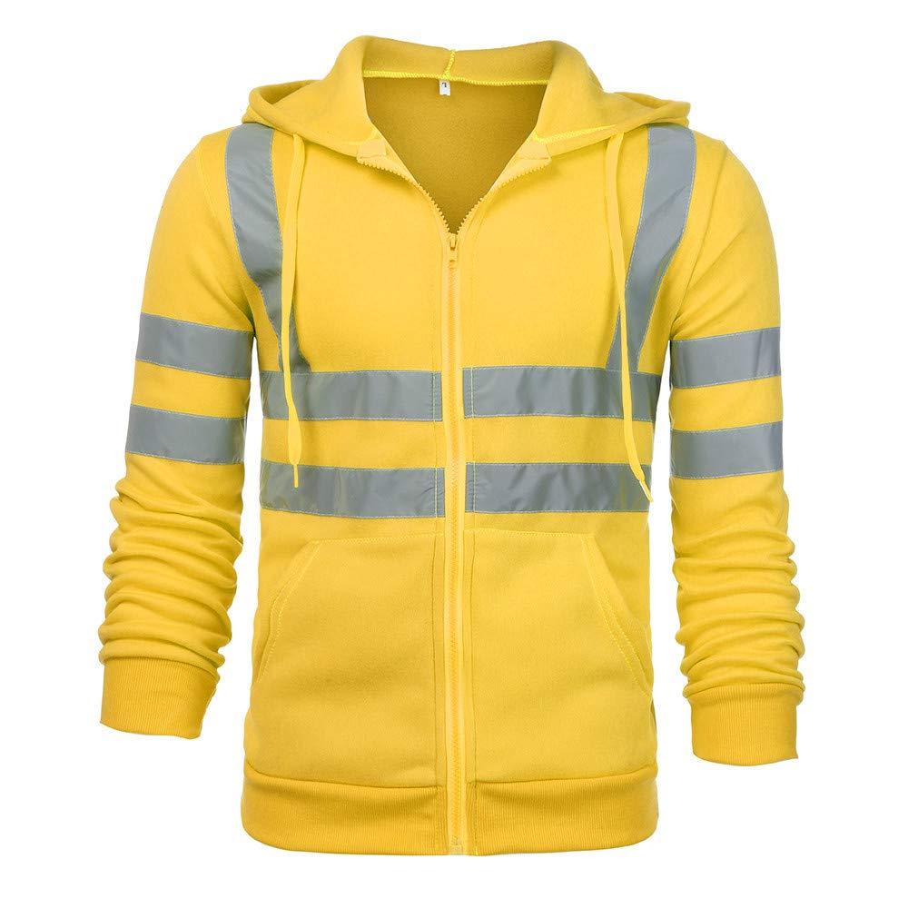 BBTshop Mens Jacket Coats Sweater Sweatshirt Blouse Hoodie Bomber Sportswear Blazer Suit Road Work High Visibility Pullover Long Sleeve Outdoor Windbreaker Raincoat Winter Thickened Coat Outwear