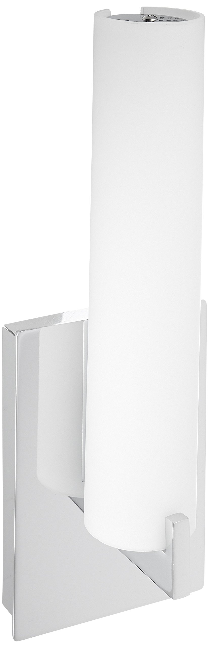 George Kovacs P5040-084-L, Tube, LED Wall Sconce, Brushed Nickel